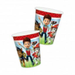 Paw Petrol Paper Cups 8ct 9oz