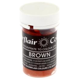 Sugarflair Pastel Brown Paste Food Colour 25g