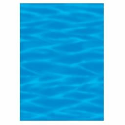 Ocean Blue Room Scene Setter 40ft long 1pc