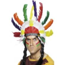 Indian Feather Headdress Native American Inspired