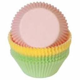 Assorted Mini Pastel Baking Cups 100pcs