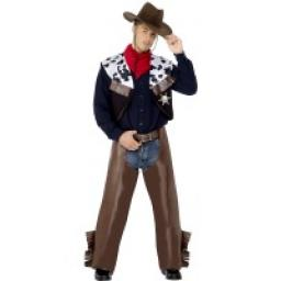 COW BOY ADULT BROWN