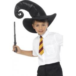 Wizard Kit Black with Tie Hat & Wand