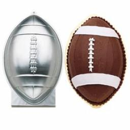 Wilton First And Ten Football Cake Pan