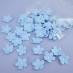 Small Forget me Not Blue Blossoms 50pcs