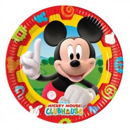 Mickey Mouse Clubhouse Paper Plates 23cm