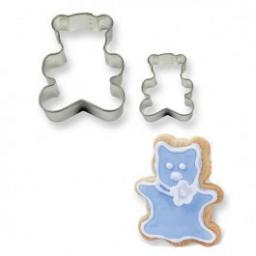 PME Metal Cutters Teddy Bear Set of 2