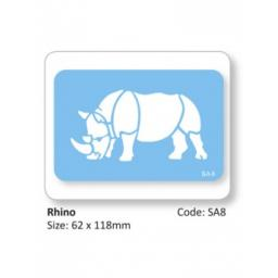 Rhino Full Body Stencil