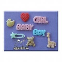 Mould Baby Girl/Boy By Alfabet Mould