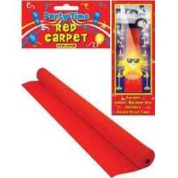 Movie Props Red Carpet In or Out Door Use 61x457cm