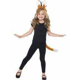 Fox Kit Tail & Headband Ears