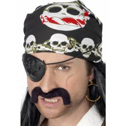 Pirate Bandana Skull & Xbones Design