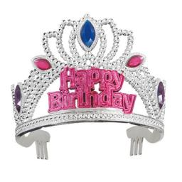 Happy Birthday Gem Tiara
