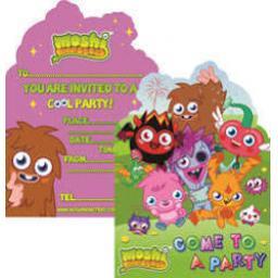 Moshi Monsters Invitations & Envelopes
