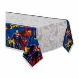 Superman Plastic Tablecover 137x243cm (54x96 inch)