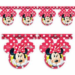 Minnie Plastic Flag Banner 2.5M