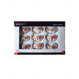 Teeth & Fangs with 9 Assorted Styles