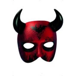 DEVIL CARONTE EYE MASK WITH HORNS