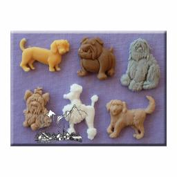 Mould Dogs 2 By Alphabet Moulds