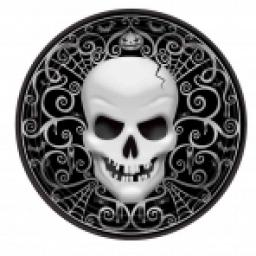 Fright Night Plates Paper 7in 8pcs