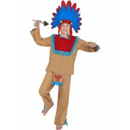 Indian Boy Costume Top Trousers Headband