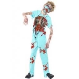 Zombie Surgeon Costume Age 12+
