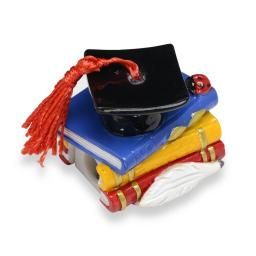 Resin Books Graduation/Sharpener