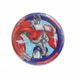 Trans Formers Paper Plate 8x9inch