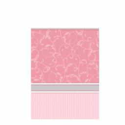 Blessing Pink Plastic Tablecover - 137cm x 260cm