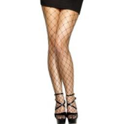 TIGHTS FISHNET LARGE MESH BLACK DISP.PK