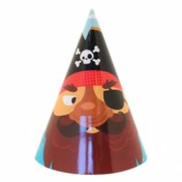 Pirate Party Hats 8pcs