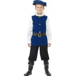 Tudor Boy Top Trousers with Boot Covers Belt & Hat
