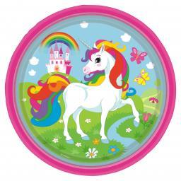Unicorn Paper Plates 23cm