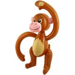 Inflatable Monkey 58cm