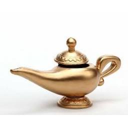 Genie Lamp Gold