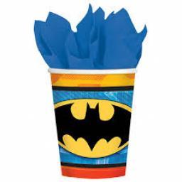 Batman Paper Party Cups 8-9oz