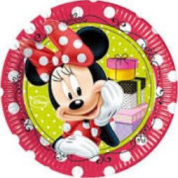 8 Minnie Fashion Plates 23cm