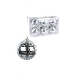 Disco Balls Set of 6 8cm