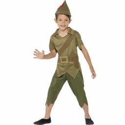 Robin Hood/Peter Pan Child Outfit Top Trouers Hat