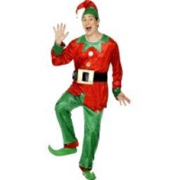 Elf Costume Deluxe - Medium