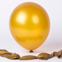 Met Gold 12inch Latex Balloon 50pcs