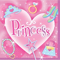 Princess Luncheon Napkins 2ply 16ct 32.7cm x 32.7cm