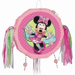 Minnie Mouse Drum PINATA. Pull