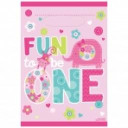 Funt To Be One Loot Bag 8pcs Pink