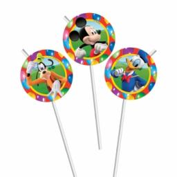 Mickey Mouse 6 Drinking Straws