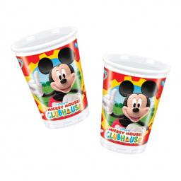 Mickey Mouse Clubhouse Plastic Cups 180ml