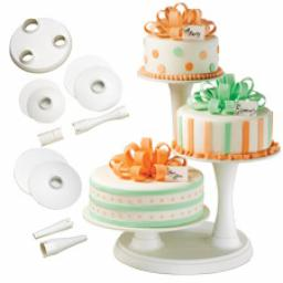 Three Tier Pillar Cake Stand