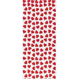 HEARTS PARTY BAGS W/TIES 20/PK *NEW*