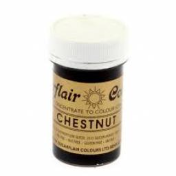 Sugarflair Spectral Chestnut Paste Colouring 25g