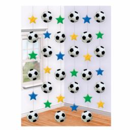 Football String Decoration 6pcs Strings are 7 Ft Long